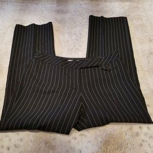 Ann Taylor LOFT Marisa Style Lined Pinstripe Pants